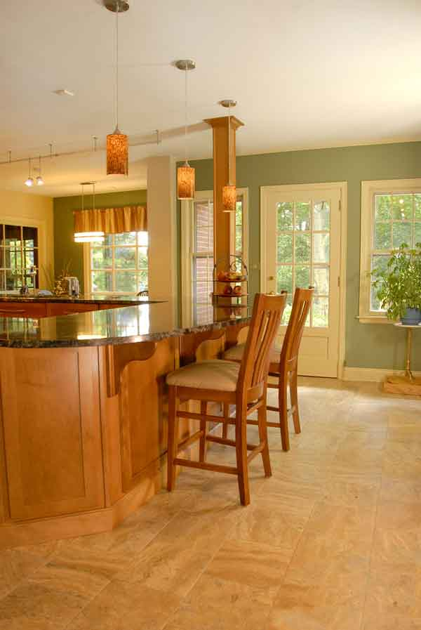 Mechanicsburg, Pennsylvania. Bolger Remodeling. A Small Kitchen And An  Unused Breezeway Are Merged Into A Spacious Gourmet Kitchen.